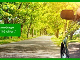 Europcar - Kilométrage illimité