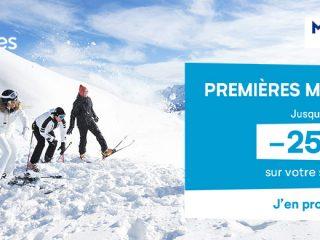 Pierre et Vacances - Premières minutes ski – Jusqu'à -25% sur votre séjour !