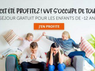 VVF - Séjour gratuit pour les enfants -12 ans