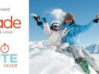 Miléade - 1ère minute hiver : jusqu'à -400€