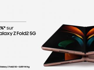 Samsung - -15% sur le Galaxy Z-Fold2 5G