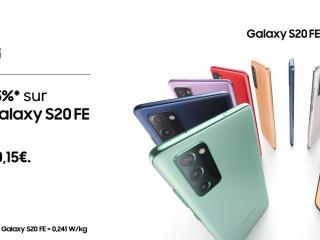 Samsung - -15% sur le Galaxy S20 FE 5G