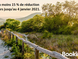 Booking - remise 15%