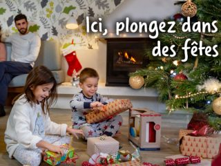 Center Parcs - Fêtes de Noël : Jusqu'à -30 % sur votre hébergement