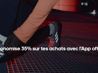 adidas : -35% sur tes achats avec l'App officielle adidas !