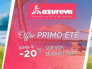 Azureva - Primo été : Jusqu'à -20%