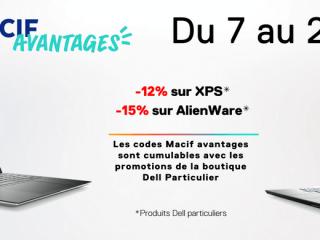 Dell - Jusqu'à -15%