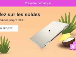 HP - Soldes d'été : Economisez jusqu'à 500€