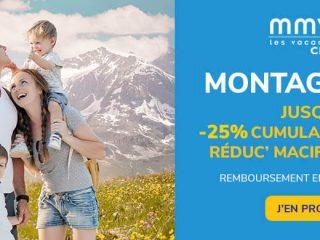 MMV - Montagne été : Jusqu'à -25%