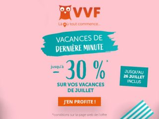 VVF - Ventes dernière minute : Jusqu'à -40%