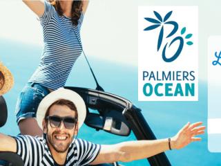 Palmiers Océan - 3 ou 4 nuits en haute saison, annulation gratuite et remboursement garanti