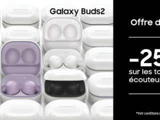 Samsung - Nouveaux buds 25%